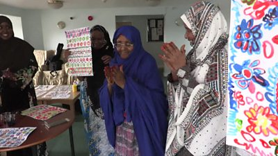 Hafza Yusuf is a British-Somali textile designer who has started to volunteer her time to give back to her community