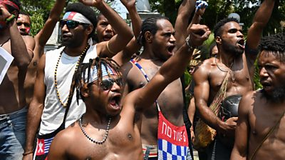 Papuan protests