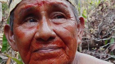 Mura tribe leader