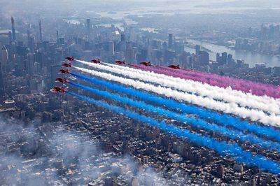 RAF over New York