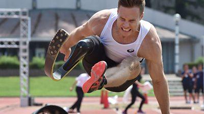 Paralympic long-jumper Markus Rehm