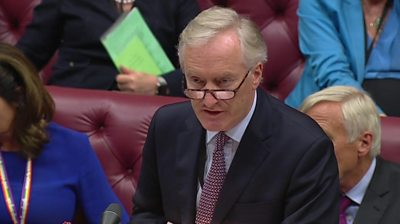 Brexit: Lord Ashton says bill to stop no-deal will clear Lords