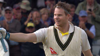 'Remarkable, eccentric, extraordinary batsman' - Smith reaches 200