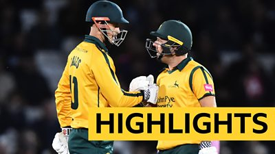 Notts Outlaws Middlesex
