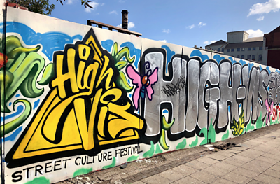 The High Vis Street Culture Festival takes place in Digbeth