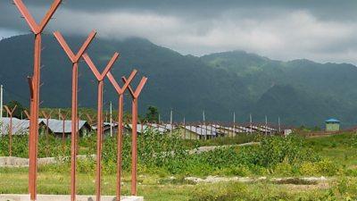 Hla Poe Kaung transit camp