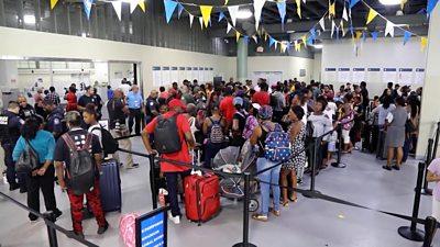 Bahama evacuee