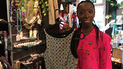 Eunice Olumide reveals how to master second-hand fashion