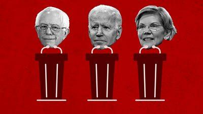 Democrat frontrunners