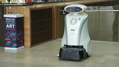 Robot cleaner from Singapore