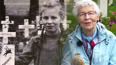 For 75 years, Willemien Rieken has tended the grave of a soldier killed during WW2