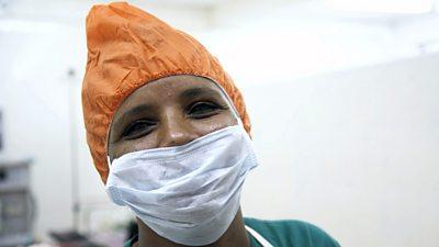 Seida Guadu in surgery