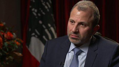 Gibran Bassil, Lebanon's Foreign Minister