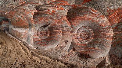 Potash mine, image by Edward Burtynsky
