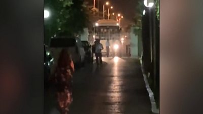 Bus in Tunisia