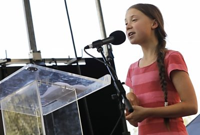 Greta's message to the UN youth climate summit