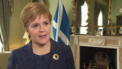 Sturgeon: Boris Johnson continuing as PM is 'unthinkable'