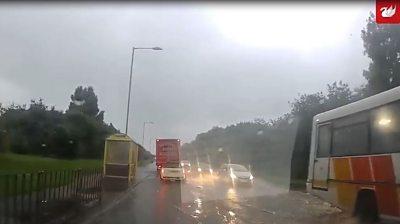 Flood in Liverpool street