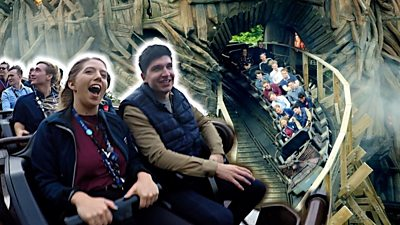 Graduates and BBC reporter on a rollercoaster