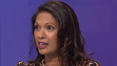 Gina Miller on Question Time