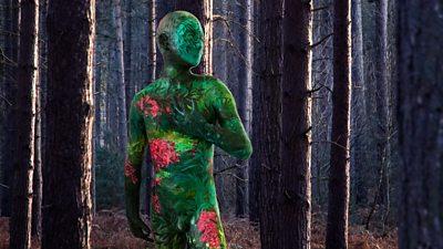 Future Forest sculpture