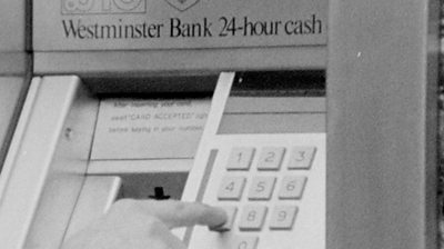 Bristol's first cash machine used punch card to dispense £10