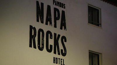 The Napa Rocks Hotel in Cyprus