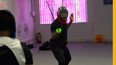 Steven is a fencing instructor who believes the sport can help communities affected by knife crime. His Christian faith pushed him to take action.
