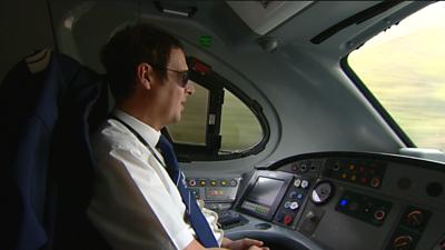 Train driver Eddie Fanton
