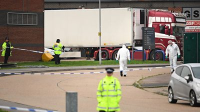 Essex lorry deaths: 'I've seen people running out of a lorry'