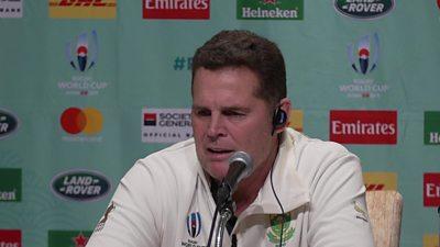 Rassie Erasmus, South Africa's director of rugby