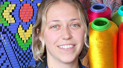 Silk designer Molly Hayden