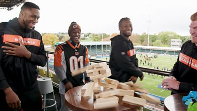 Yung Filly and the Cincinnati Bengals