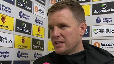 Watford 0-0 Bournemouth: Eddie Howe frustrated with Bournemouth's lack of goals