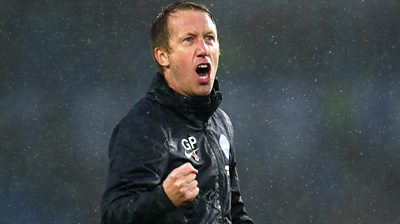 Brighton 3-2 Everton: My heart needs a rest - Graham Potter