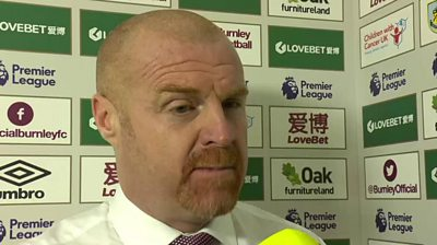 Burnley 2-4 Chelsea: The Blues were too strong for us - Sean Dyche