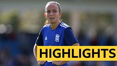 WSL Highlights: Birmingham City 2-0 Liverpool