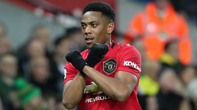 Norwich 1-3 Man Utd: Martial is a very important player for us - Ole Gunnar Solskjaer