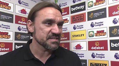 Norwich 1-3 Man Utd: I don't blame VAR for defeat - Daniel Farke