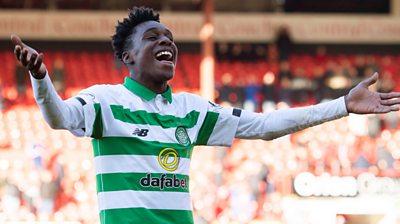 Celtic's Jeremie Frimpong