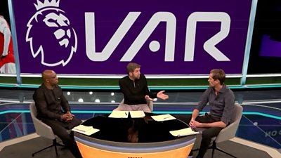 Mark Chapman, Ian Wright & Peter Crouch
