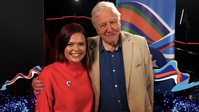 Blue Peter Goes Green with Sir David Attenborough