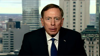 But the former CIA director tells the BBC the threat posed by the Islamic State group will endure.