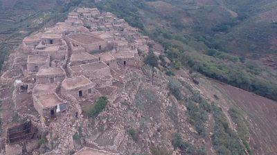 Shonke village in Ethiopia