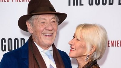 Stars of The Good Liar attended the world premiere at the BFI in London.  Helen Mirren and Sir Ian McKellen are starring in a film together for the first time.