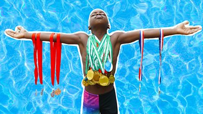 Aidan Dumuje Abili, Nigerian swimmer