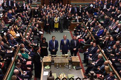 Tellers in UK parliament