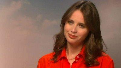 Felicity Jones, actress