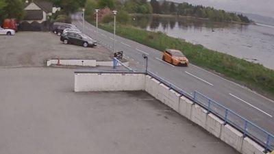 Car caught speeding on CCTV