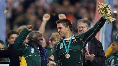 Thabo Mbeki and John Smit